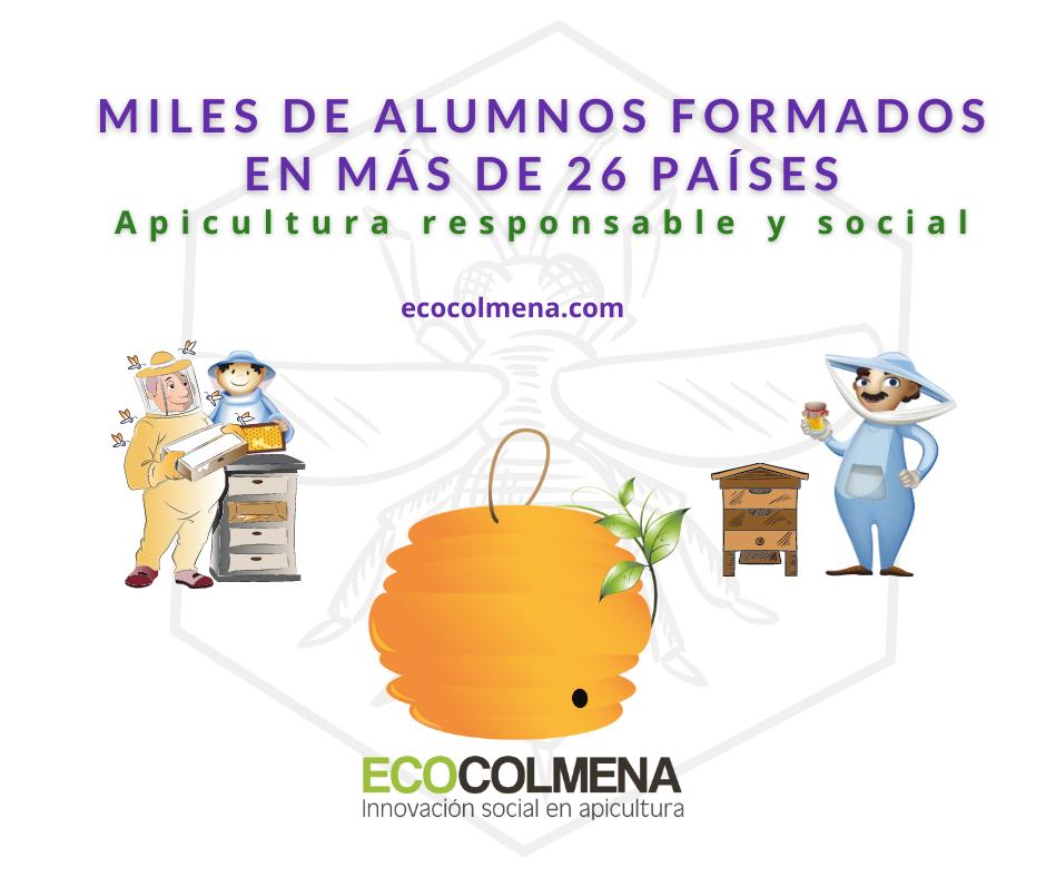 Cursos online de Apicultura Orgánica de Ecocolmena