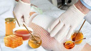 heridas curadas con miel