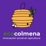 Ecocolmena - Logo azul