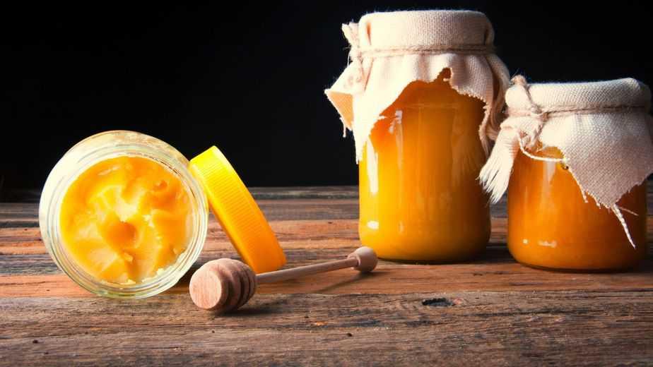potes de miel cruda